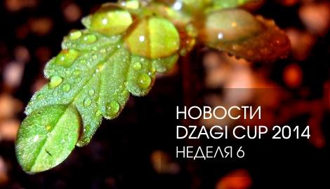 Новости DzagiCup: неделя 6