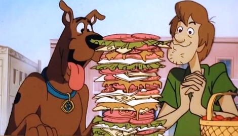 КаннаКухня: Сэндвич Скуби-Дуби-Ду