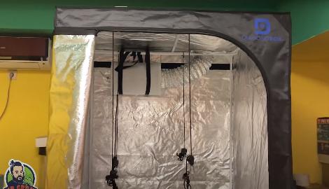 Видео: Обзор гроутента Diamond Box (Mr.GrowChannel)