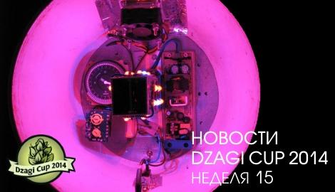 Новости DzagiCup: неделя 15