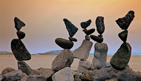 Камень на камень