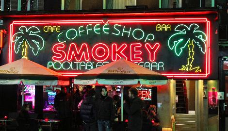 Нидерланды не хотят, чтобы туристы посещали кофешопы