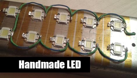 Handmade LED своими руками