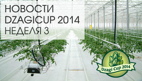 Новости DzagiCup14 неделя 3