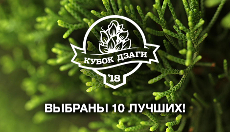 Объявляем 10 финалистов Кубка Дзаги