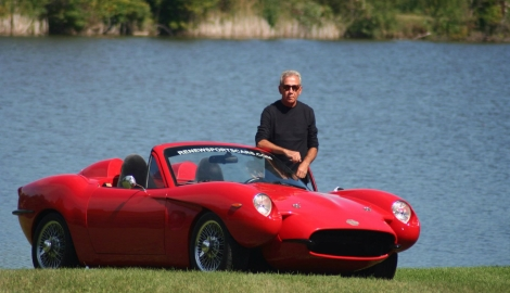 Американец построил спорткар из конопли