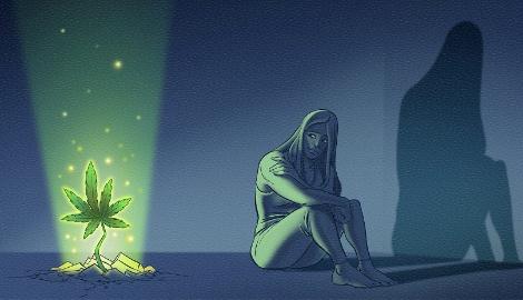Исследование: каннабис эффективно избавляет от симптомов депрессии