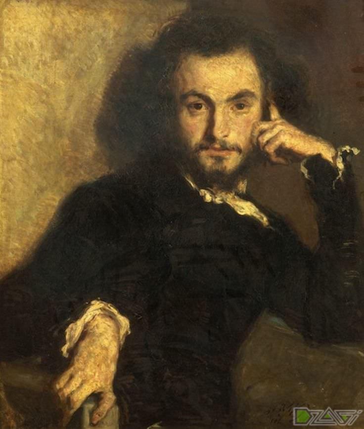 портрет молодого шарля бодлера
